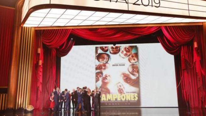 Imagen de la gala de los Goya 2019, celebrada en Sevilla.