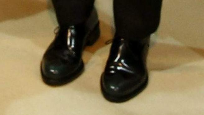 Zapatos tipo Oxford de la Princesa Letizia Ortiz.