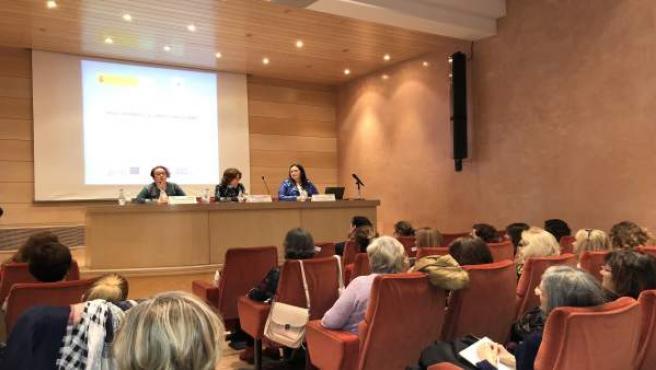 El Gobierno de Aragón ha celebrado hoy esta jornada sobre la brecha salarial