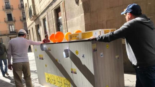 Haibu 4.0 lleva un 'piso colmena' de plaza Sant Jaume a plaza Sant Miquel.