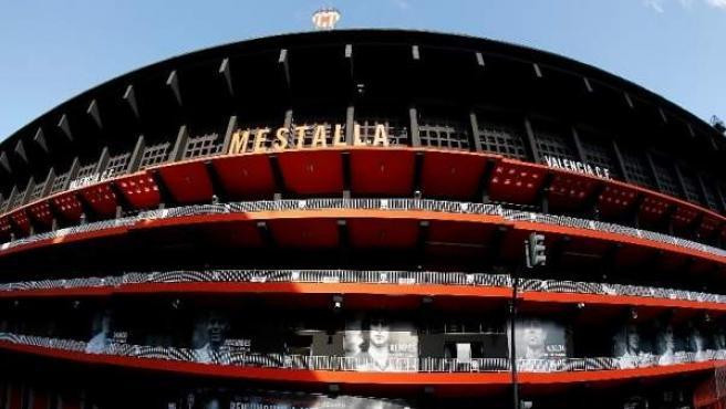 Campor de fútbol de Mestalla