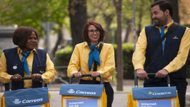 Correos incorpora a 15 nuevos trabajadaores fijos