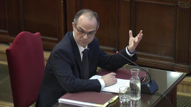 Jordi Turull declara en el Supremo.