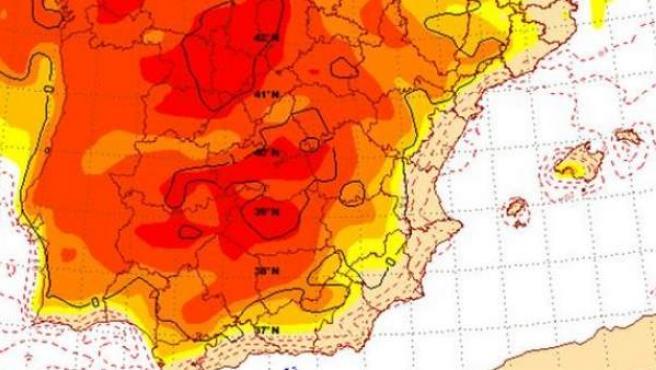 Mapa Del Tiempo España Fin De Semana.El Tiempo Del Fin De Semana Calor Y Hasta 28 Grados En