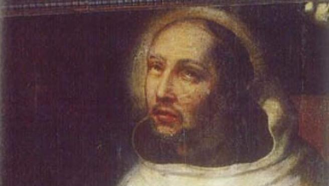 San Juan de la Cruz, en un retrato antiguo.