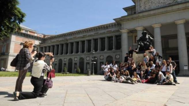Turistas Madrid