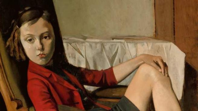 Balthus. Thérèse, 1938. The Metropolitan Museum of Art, Nueva York. Legado de Mr. y Mrs. Allan D. Emil, en honor de William S. Lieberman © Balthus, 2019.