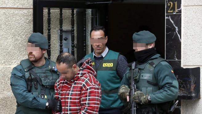 Uno de los detenidos por el asesinato del concejal de IU en Llanes (Asturias) Javier Ardines.