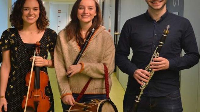 Concierto de txistu, violín y clarinete este jueves dentro del IV Ciclo de Jóven