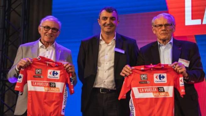 Javier Guillén presenta en Breda la salida de La Vuelta 2020