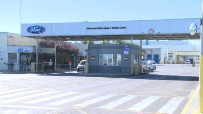 Primer día de aplicación del ERTE en la planta de Ford Almussafes