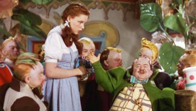 Fotograma de la película de 1939 'El Mago de Oz'.