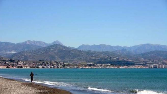 Vista de la costa de Vélez Málaga