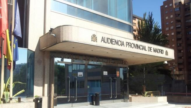 Sede de la Audiencia Provincial de Madrid.