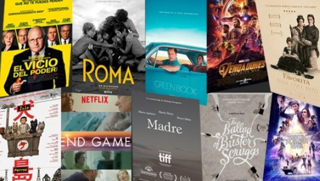 Películas nominadas a los Oscar 2019.
