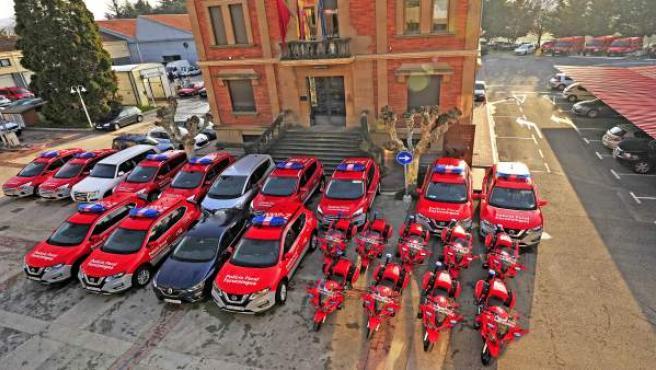 Renovada la flota de Policía Foral en 136 vehículos tras invertirse 3 millones d