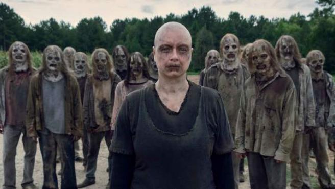 Los Susurradores plantan cara a los héroes de 'The Walking Dead'.
