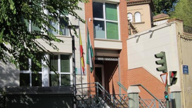 Exterior del Juzgado de lo Penal número 4 de Jaén.