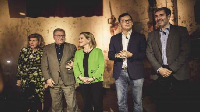 Presentación de la candidatura de Pablo Rodríguez