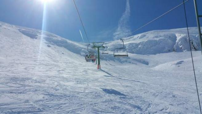 Telesilla de la estación de esquí de Valdezcaray