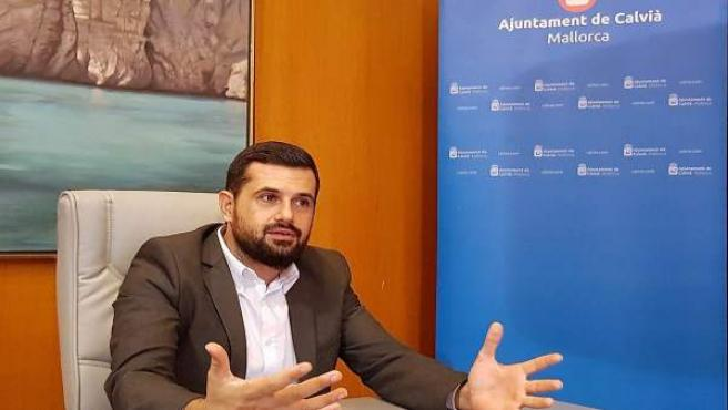 El regidor de Ciudadanos en Calvià, Carlos Tarancón