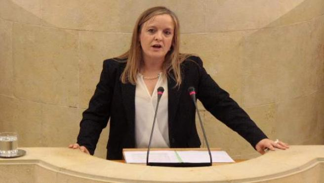 La diputada del PP, Isabel Urrutia
