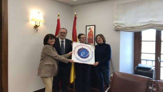 Dos institutos de Segovia y Valladolid reciben el LabelFrancÉducation que acredi
