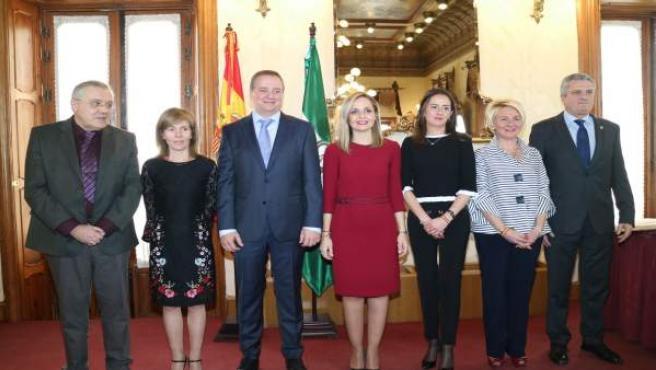 Los delegados de la Junta en Almería tras la toma de posesión
