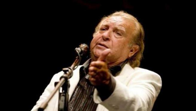 Juan Peña, 'El Lebrijano', En Una Actuación