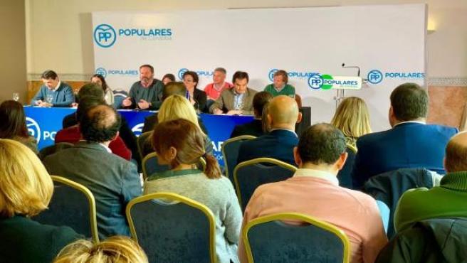 Córdoba.-28A.- Molina (PP) critica al PSOE porque la convocatoria de elecciones