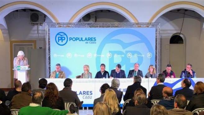 Cádiz.- Sanz afirma que la provincia 'vive una etapa ilusionante' por el Gobiern