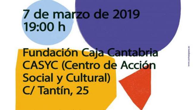 Cartel del III Festival de Cortos dirigido por Mujeres en Santander