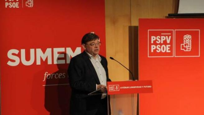 XIMO PUIG: 'LOS GOBIERNOS TENEMOS QUE ASEGURAR QUE LAS PERSONAS EN LA ÚLTIMA ETA