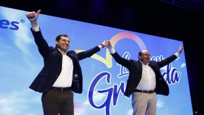 El presidente provincial del PP y candidato a la Alcaldía de Granada, Sebastián