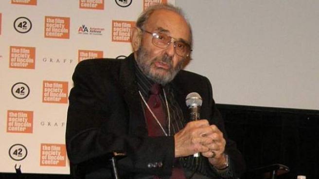 El director Stanley Donen, en un evento en 2010.