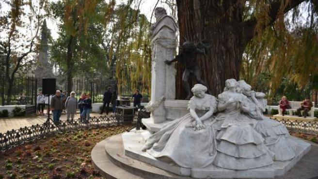 Sevilla.- El Ayuntamiento devuelve la Glorieta de Bécquer a su diseño original t