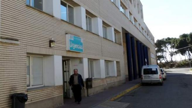 Acceso a urgencias en el Hospital San Jorge de Huesca-