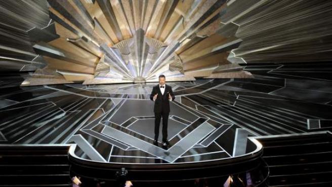 Jimmy Kimmel, presentador de la gala de los Óscar en 2018.