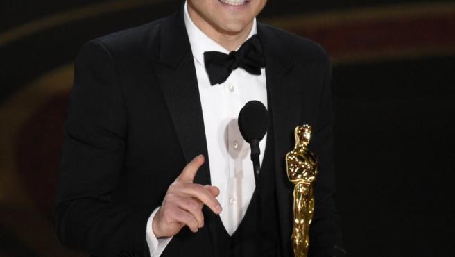 Rami Malek, Oscar 2019 a mejor actor protagonista por su interpretación de Freddie Mercury en 'Bohemian Rhapsody'.