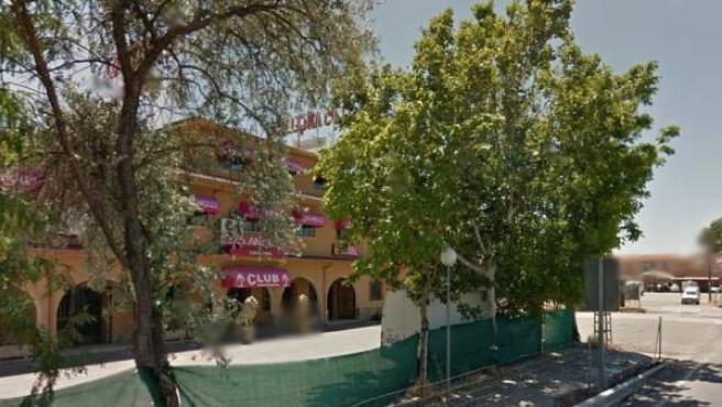 Club Los Ángeles.
