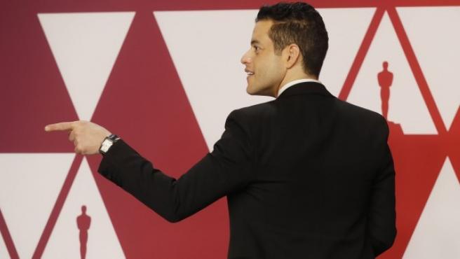 Rami Malek, en los Oscar.