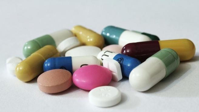 Una imagen de archivo de fármacos.