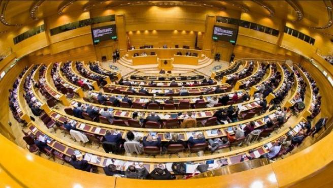 El senado en un imagen de archivo