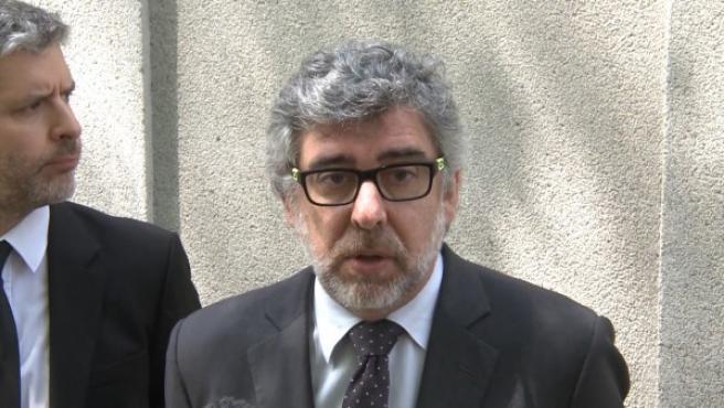 Jordi Pina en el Tribunal Supremo.