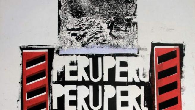 Herbert Rodríguez (Lima, 1959). Perú Perú, 1987. Monotipia. Una de las obras de artistas peruanos que participan en ARCO 2019.