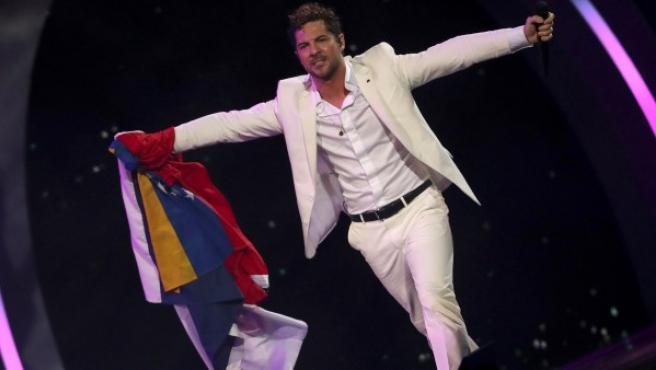David Bisbal, durante su actuación en el Festival Internacional de Viña del Mar (Chile).