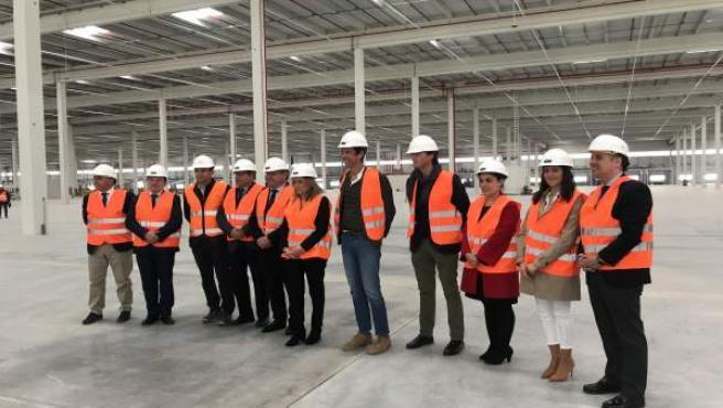 El nuevo centro de distribución de Logisfashion en Toledo, de 80.000 metros cuad