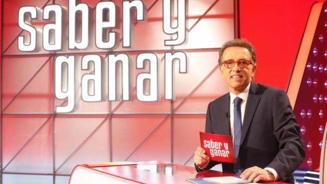 Jordi Hurtado en el plató de 'Saber y Ganar'.