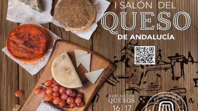 Cartel del I Salón del Queso de Andalucía
