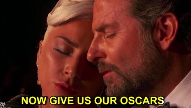 En el tráiler honesto de 'Ha nacido una estrella', Lady Gaga le canta las cuarenta a 'Bohemian Rhapsody'
